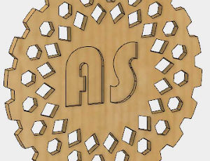 Make a Wood Tile with the CNC Milling Machine Using Fusion
