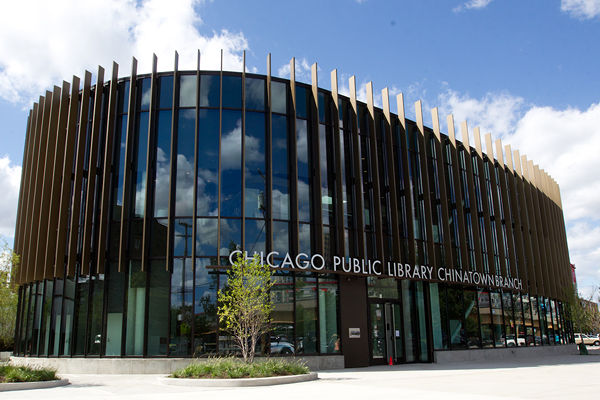Chinatown Chicago Public Library